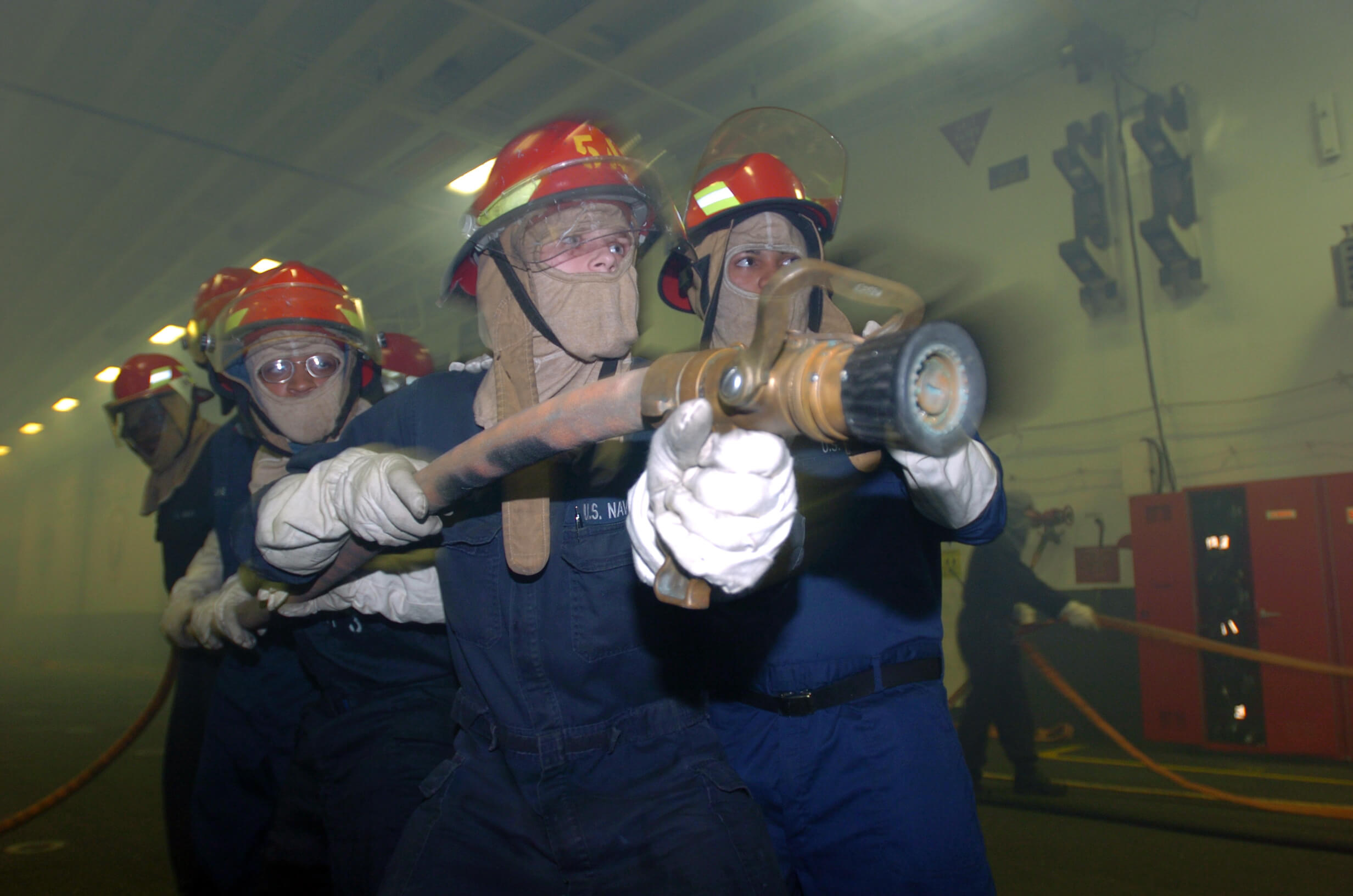 MCA approved STCW 2010 Advanced Fire Fighting